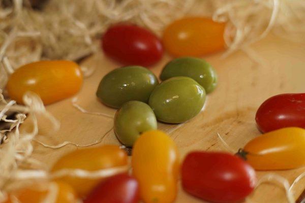 Olive Versi extra Caseificio pupatella Mozzarella e prodotti caseari