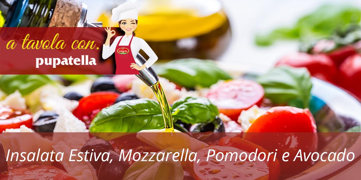 Insalata Estiva con Mozzarella, Pomodori e Avocado